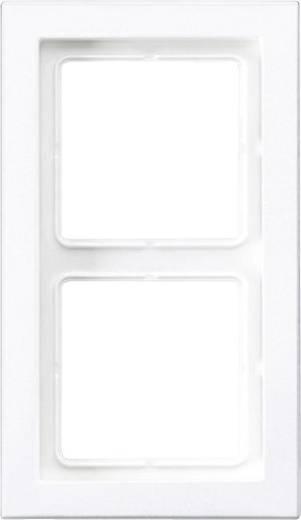 Jung LS-Design Rahmen LSD982 WW 2-fach weiß