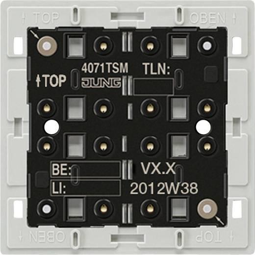 Jung KNX Tastsensor Modul mit integriertem Busankoppler, 1fach