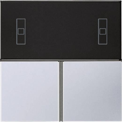 Jung Tastensatz für Kompakt-Raumcontroller-Modul AL 4093 TSA Aluminium Metallausführung