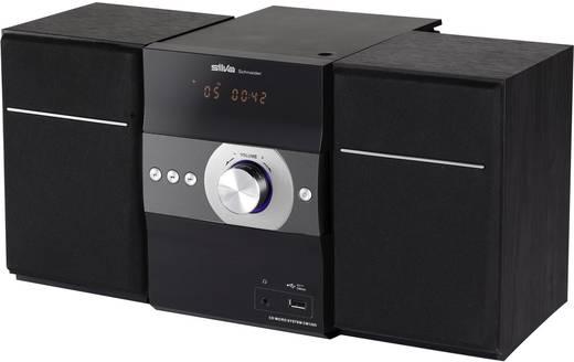 Stereoanlage Silva Schneider SMP 400 BT , Schwarz