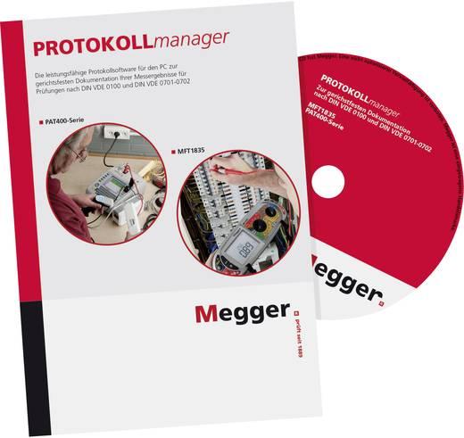 Megger PROTOKOLLmanager Software für PAT410, PAT450 und MFT1835