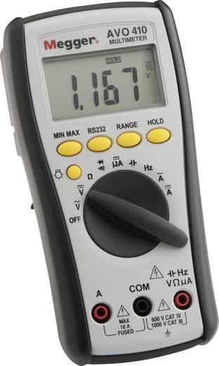 Hand-Multimeter digital Megger AVO410 Kalibriert nach: Werksstandard Strahlwassergeschützt (IP65) CAT III 1000 V, CAT IV 600 V Anzeige (Counts): 6000