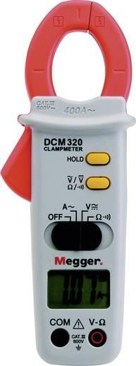Stromzange, Hand-Multimeter digital Megger DCM320 Kalibriert nach: Werksstandard (ohne Zertifikat) CAT III 600 V Anzeig