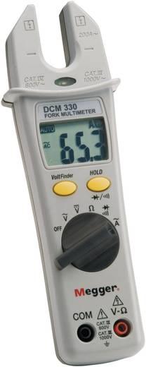 Stromzange, Hand-Multimeter digital Megger DCM330 Kalibriert nach: Werksstandard CAT III 1000 V, CAT IV 600 V Anzeige (