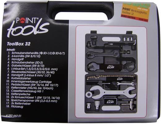 Fahrrad Werkzeugkoffer 32teilig Point Toolbox 32