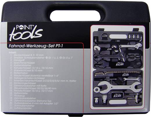 Fahrrad Werkzeugkoffer 36teilig Point Toolbox 36