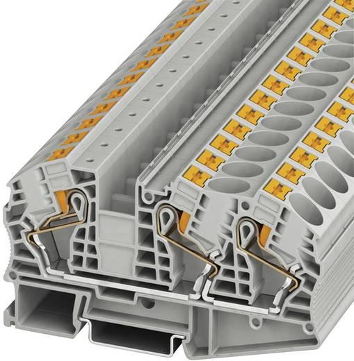 Push-In Durchgangsklemmen PT PT 16-TWIN N Phoenix Contact Grau Inhalt: 1 St.