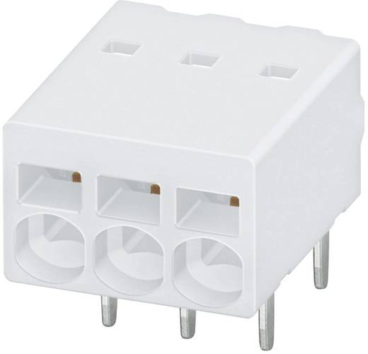 Federkraftklemmblock 0.50 mm² Polzahl 2 PTSM 0,5 / 2-2,5-H THR R24 WH Phoenix Contact Weiß 1 St.