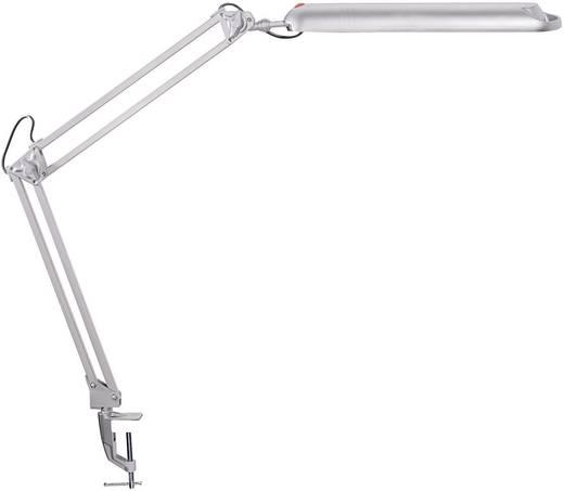 LED-Klemmleuchte 9 W Tageslicht-Weiß Maul MAULantlantic 8203595 Silber