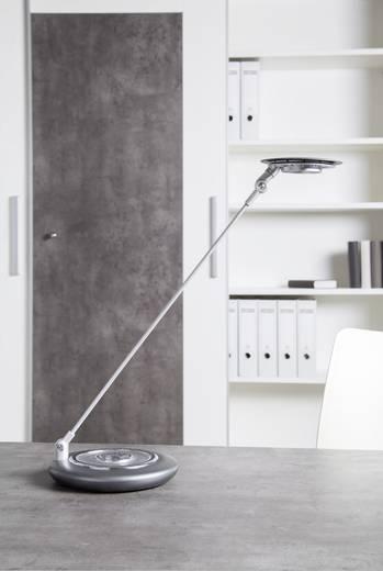 LED-Schreibtischleuchte Kalt-Weiß Maul Galaxy 8202495 Silber