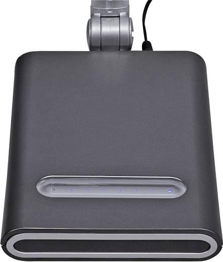 LED-Schreibtischleuchte Neutral-Weiß Maul pure 8202295 Silber