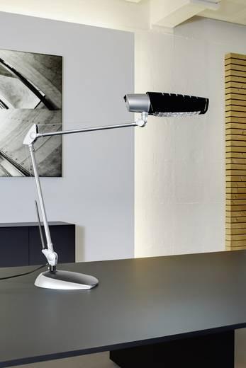 Schreibtischleuchte Energiesparlampe E27 20 W Maul Aurora Silber