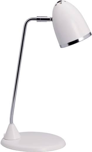 Schreibtischleuchte Energiesparlampe E27 8 W Maul Starlet Weiß