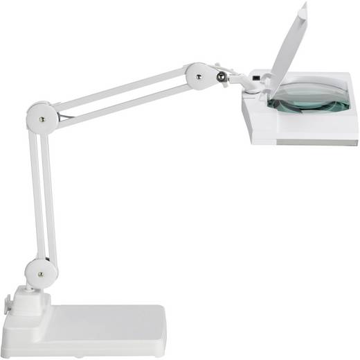 Lupenleuchte Energiesparlampe 2G7 18 W Maul Vitrum Weiß