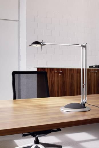 Schreibtischleuchte Halogen GY6.35 50 W Maul Business Silber