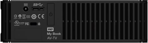 Externe Festplatte 8.9 cm (3.5 Zoll) 2 TB Western Digital My Book AV-TV Schwarz USB 3.0