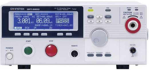 GW Instek GPT-9801 Isolationsmessgerät, Stoßspannungsprüfgerät 100 V, 250 V, 500 V, 1000 V 9500 MΩ Kalibriert nach Werks