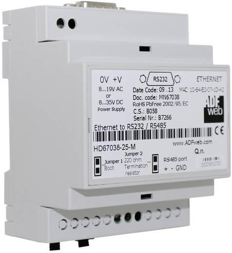 Ethernet Konverter RS-232, RS-485, Ethernet Wachendorff HD6703825M 24 V/DC