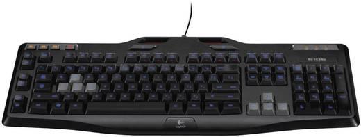 USB-Gaming-Tastatur Logitech Gaming G G105 Beleuchtet Schwarz