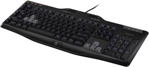 USB-Gaming-Tastatur Logitech Gaming G105 Beleuchtet Schwarz