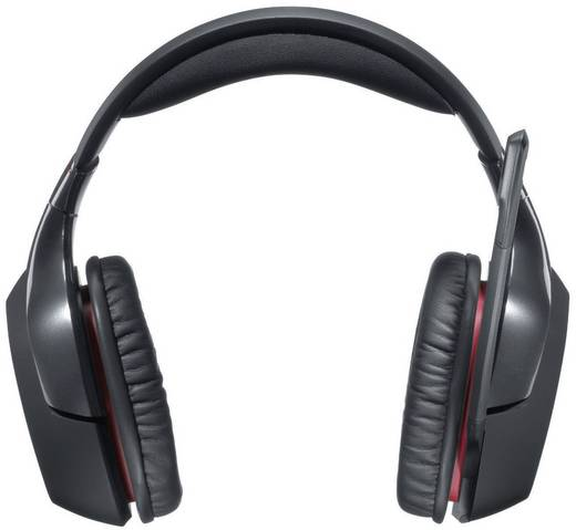 Gaming Headset USB schnurlos Logitech Gaming G930 Over Ear Schwarz