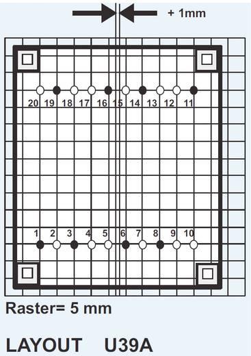 Printtransformator 2 x 115 V 2 x 9 V 18 VA 1000 mA SPF 1830909 Spitznagel