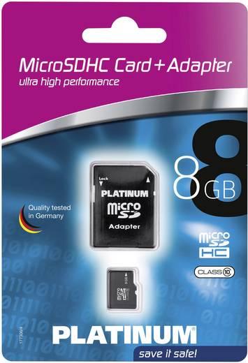 microSDHC-Karte 8 GB Platinum Class 10 inkl. SD-Adapter