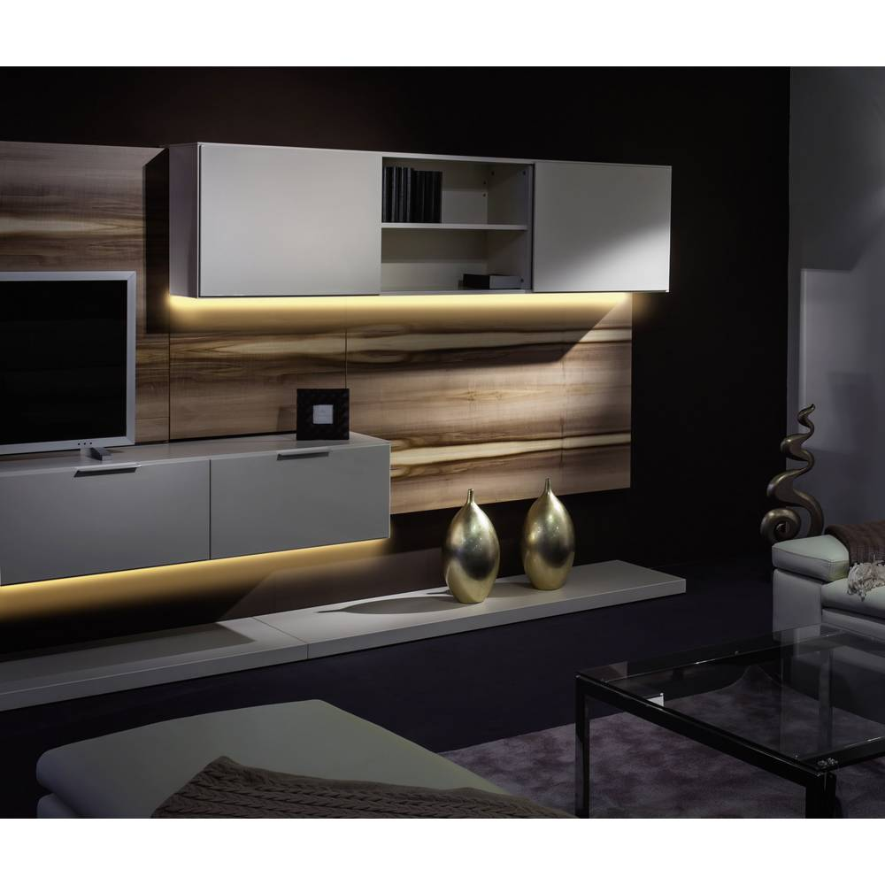 Renkforce LED-Streifen-Komplettset mit Stecker 230 V 500 cm RGB ...
