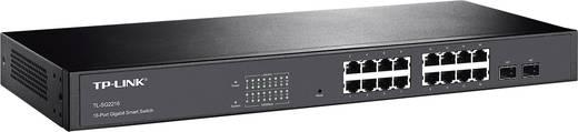 19 Zoll Netzwerk-Switch RJ45/SFP TP-LINK TL-SG2216 16 + 2 Port 1 Gbit/s