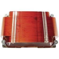3D Heat Diffuser QuickCool QHD-02007, vŕtané otvory, nos kladiva, (d x š x v) 106 x 70 x 25.5 mm, měď