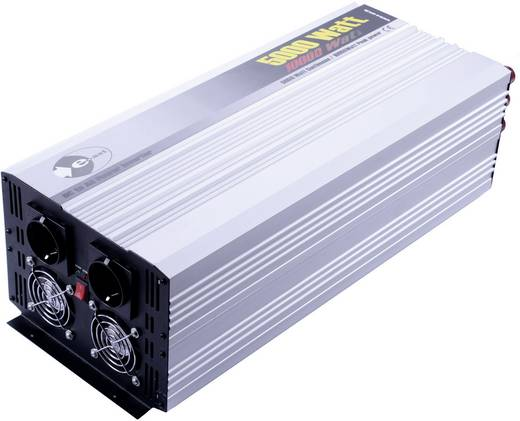 Wechselrichter e-ast HPL5000-24 5000 W 24 V/DC 24 V/DC (22 - 30 V) Normstecker Schutzkontakt-Steckdose