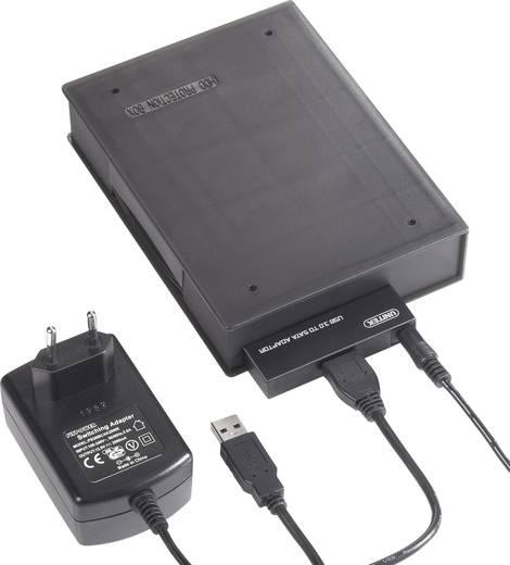 SATA-Festplatten-Gehäuse 2.5 Zoll, 3.5 Zoll Renkforce Y-1039C USB 3.0