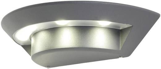 ECO-Light Ghost 1880 s-gr LED-Außenwandleuchte 7 W Neutral-Weiß Anthrazit