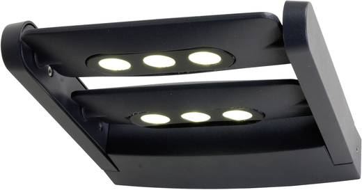 LED-Außenwandleuchte 18 W ECO-Light 6144 S2 gr Anthrazit