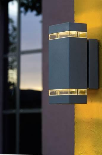 LED-Außenwandleuchte 7.6 W Neutral-Weiß ECO-Light Focus 6050 gr LED Anthrazit