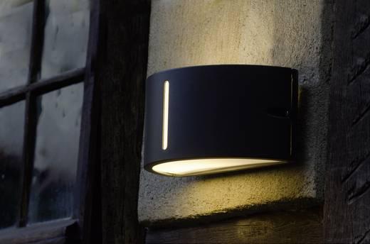 ECO-Light 3304 gr Außenwandleuchte Energiesparlampe, LED E27 100 W Anthrazit