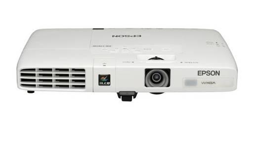 LCD Beamer Epson Epson EB-1761W Helligkeit: 2600 lm 1280 x 800 WXGA 2000 : 1 Weiß