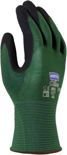 Nylon Arbeitshandschuh Größe (Handschuhe): 8, M EN 420 , EN 388.3121 North Oil Grip NF35 1 Paar