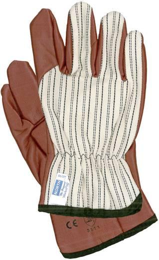 North 85/3729 Handschuh Worknit Baumwoll Jersey Trägergewebe mit Nitrilkautschuk Beschichtung Größe 8