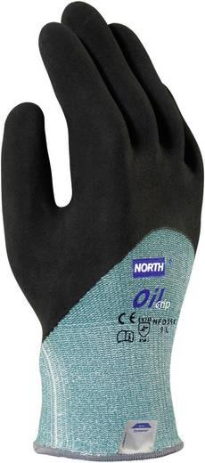 Nitril Schnittschutzhandschuh Größe (Handschuhe): 9, L EN 420 , EN 388 North Oil Grip NFD35X 1 Paar
