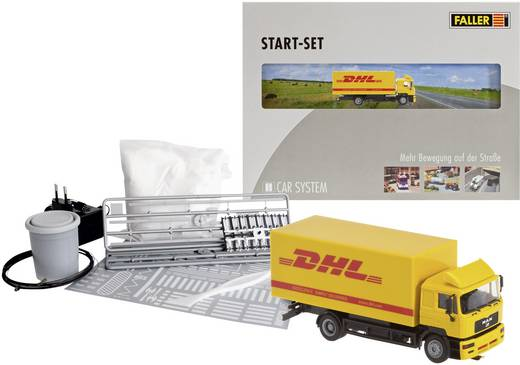 Car System H0 Start-Set MAN LKW DHL Faller 161607