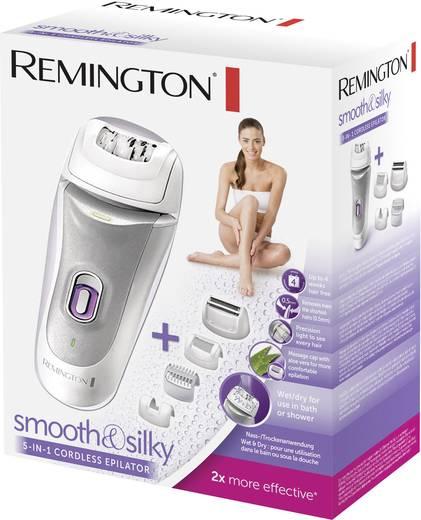 Epilierer Remington Akkubetriebener smooth & silky 5 in 1 Epilierer Weiß