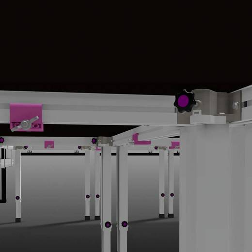2M ERGOtrend Bühnenpodest Indoor 1 x 1 x 1,41 m Ecke