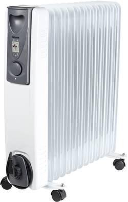 Olejový radiátor Tristar 558073, 25 m², 800 W, 1000 W, 2000 W, biela