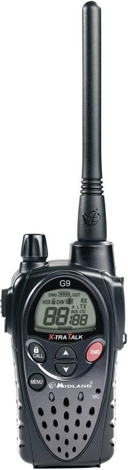 PMR a LPD radiostanice Midland G9 Plus C923.05