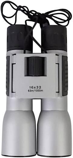 Fernglas Basetech Compact 16 x 32 mm Silber-Schwarz