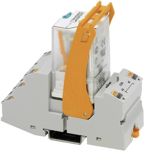 Relaisbaustein 1 St. Phoenix Contact RIF-3-RPT-LDP-24DC/2X21 Nennspannung: 24 V/DC Schaltstrom (max.): 10 A 2 Wechsler