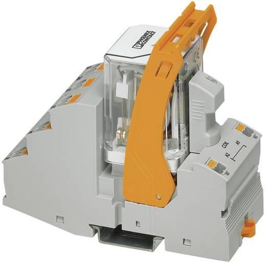 Relaisbaustein 1 St. Phoenix Contact RIF-4-RPT-LV-120AC/2X21 Nennspannung: 120 V/AC Schaltstrom (max.): 9 A 2 Wechsler