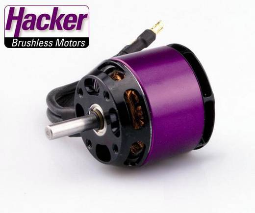 Flugmodell Brushless Elektromotor Hacker A30-10 L V3 kV (U/min pro Volt): 1370 Windungen (Turns): 12