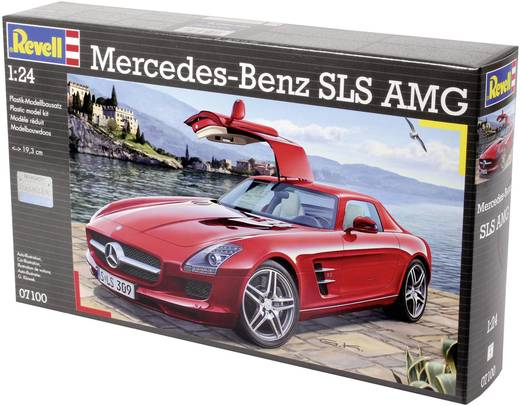 revell 07100 mercedes sls amg automodell bausatz 1 24. Black Bedroom Furniture Sets. Home Design Ideas